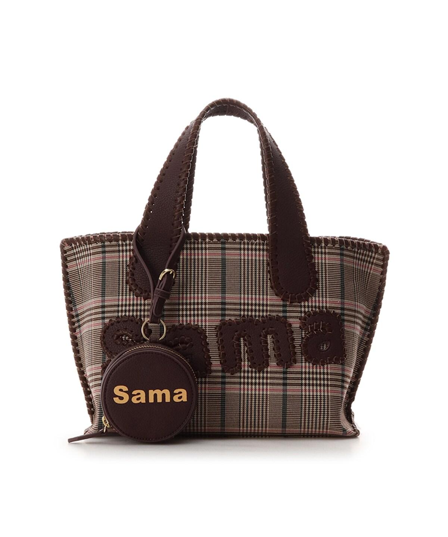 サマタバ トートバッグ (グレンチェックVer) L