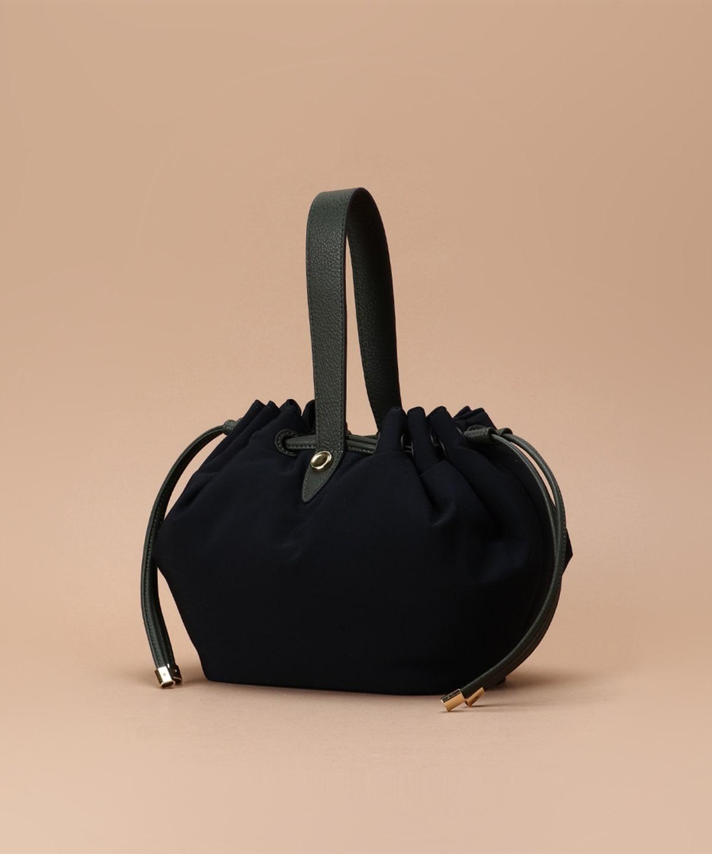 ボンディングデザインハンドルバッグ