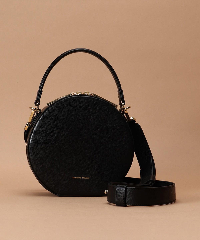 サークルデザインハンドルバッグ