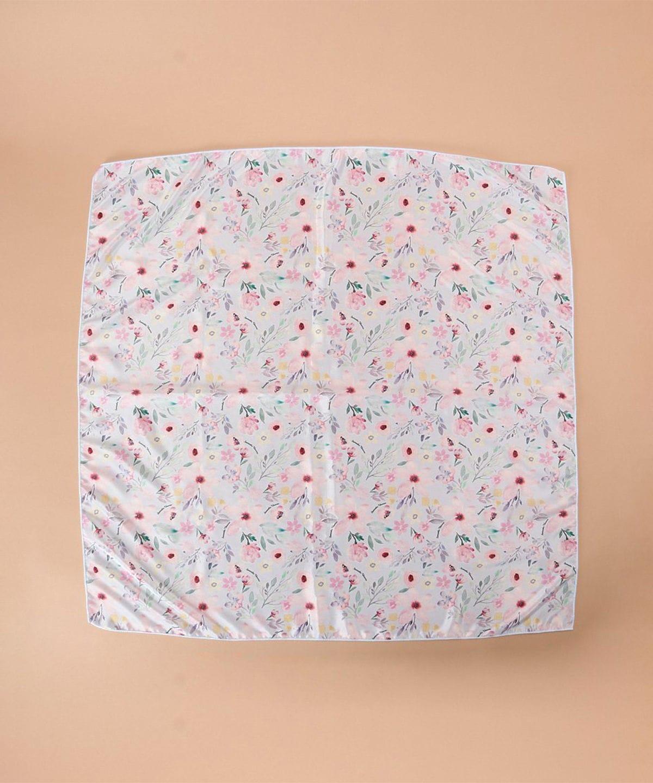 フラワーデザインスカーフ