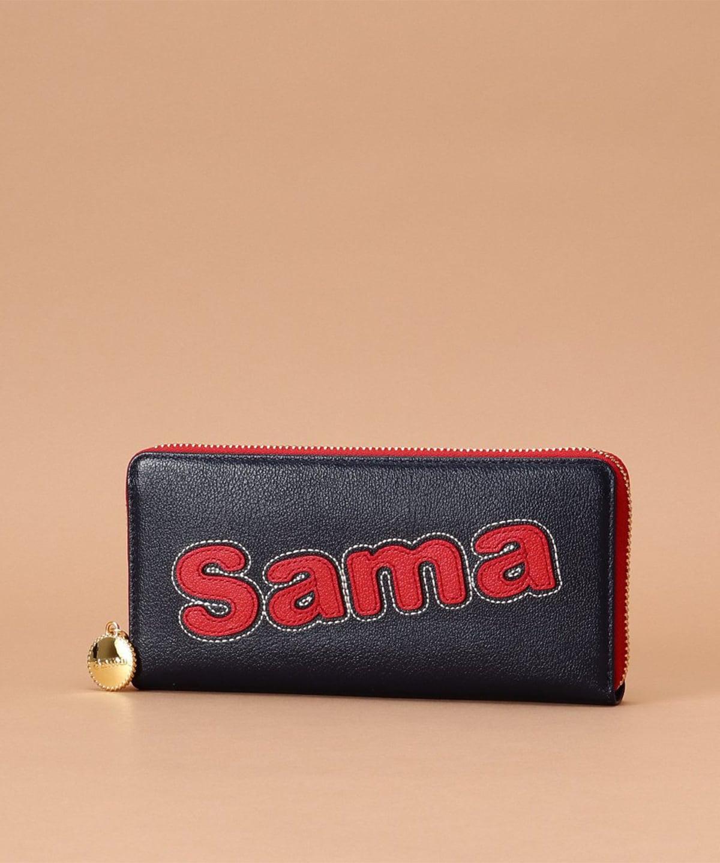サマタバラウンド長財布