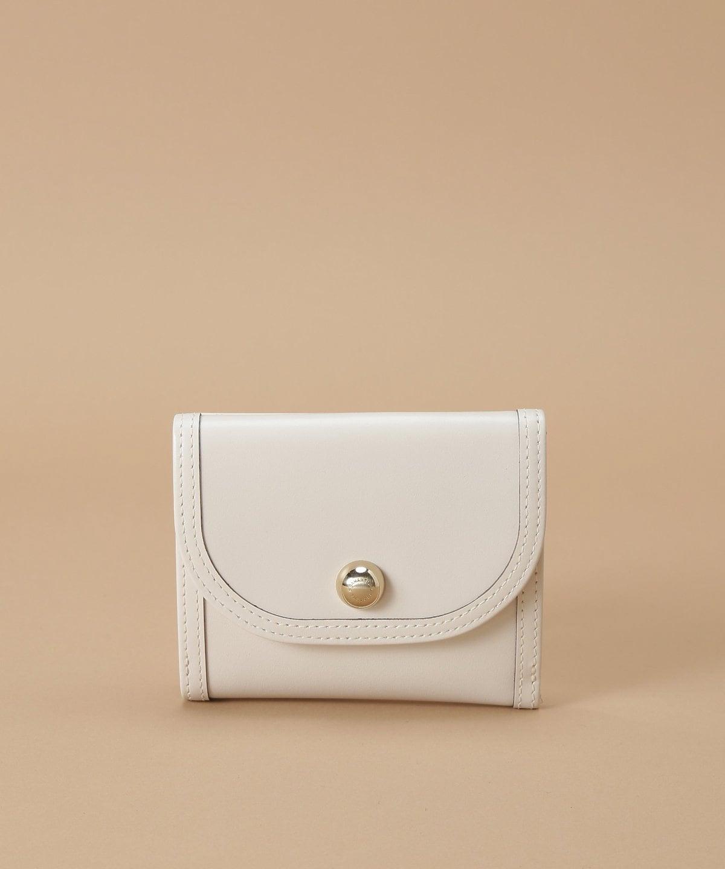 サークルシルエット 折財布