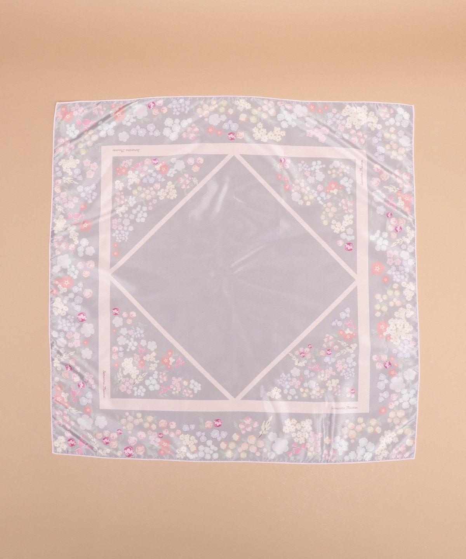 オリジナルフラワー柄スカーフ