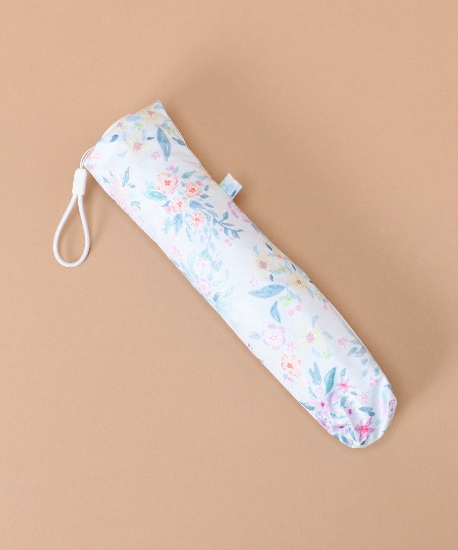オリジナルフラワー柄折りたたみ傘【晴雨兼用】