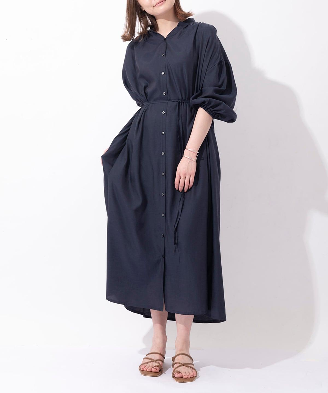 Samantha Green シャツワンピース