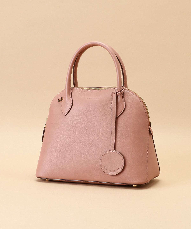 Lady moon  Large(Italian leather handle bag)