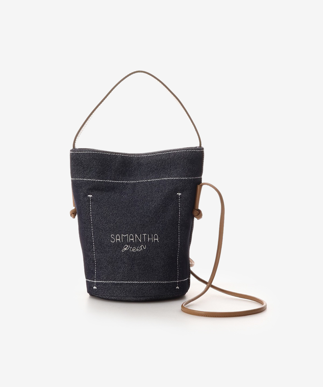 Samantha Green 和紙バケットバッグ 小サイズ