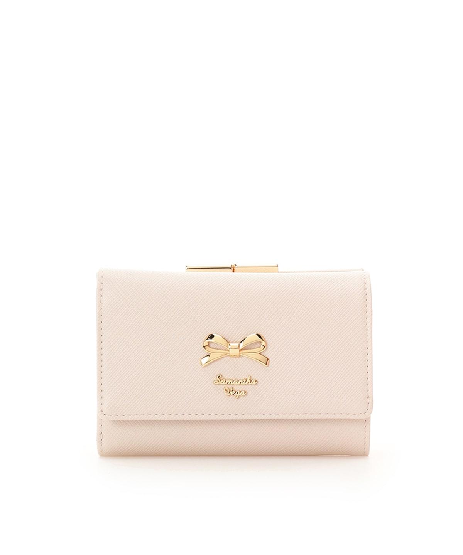 シンプルリボン 折財布