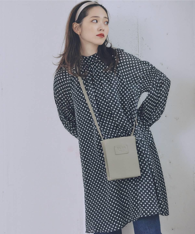 鈴木愛理×サマンサベガ 縦長BOX型ショルダーバッグ