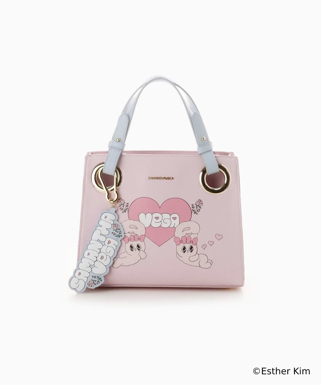 『Esther Bunny』×サマンサベガ スクエアトートバッグ