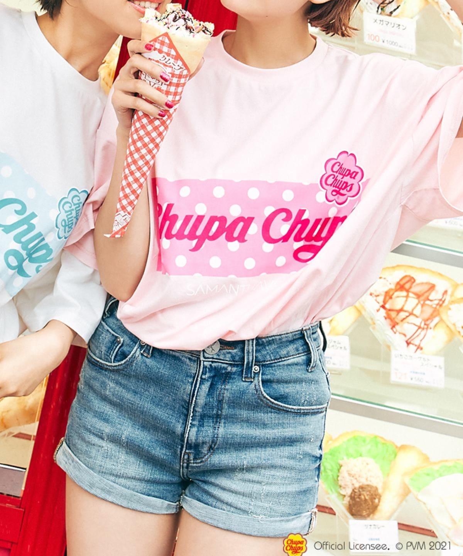 チュッパチャプスコラボ Tシャツ