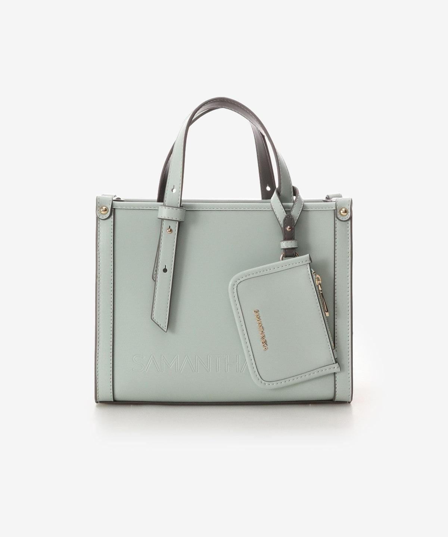 シンプル横型ハンドバッグ