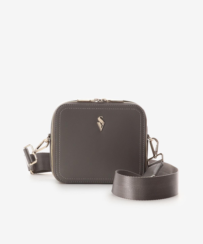 BOX型ショルダーバッグ