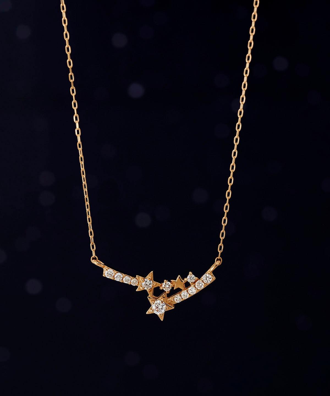 スターダイヤモンドネックレス