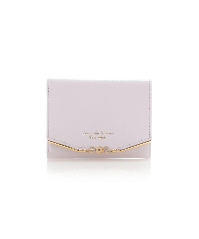 フラワーバー金具シリーズ折財布