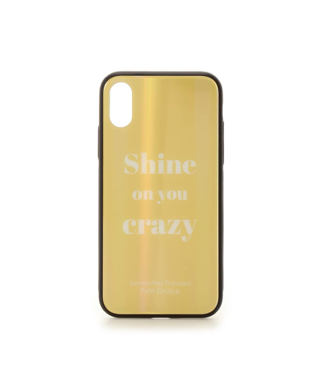 レインボーガラスiphoneケース iphoneX