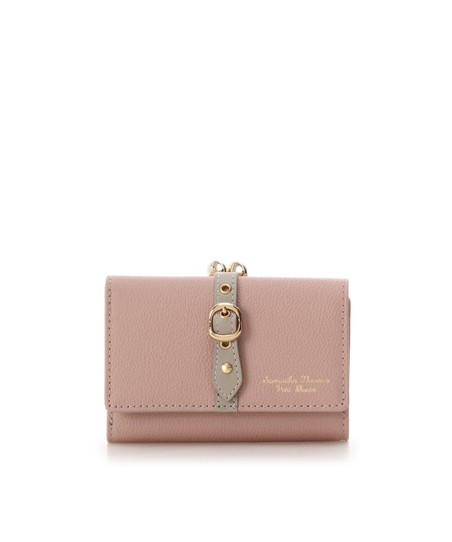 フロントベルト 折財布