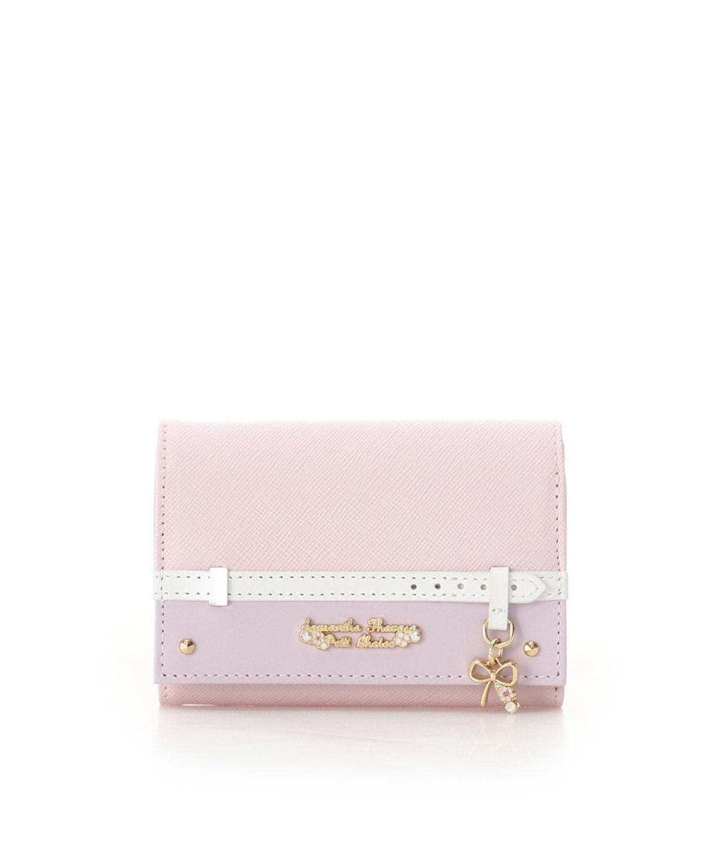 ★ベルトリボンモチーフ 折財布