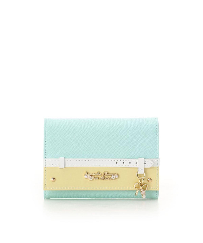 ベルトリボンモチーフ 折財布