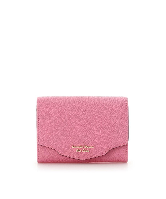 ウェーブフラップ折財布