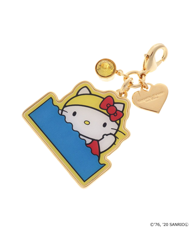 【「HELLO KITTY」コラボ】ファスナーチャーム 水泳