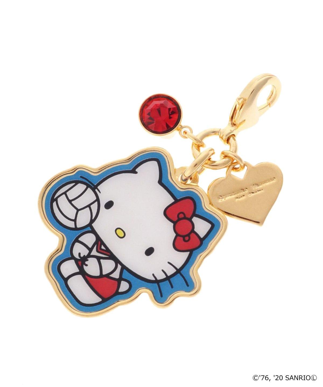 【「HELLO KITTY」コラボ】ファスナーチャーム バレーボール