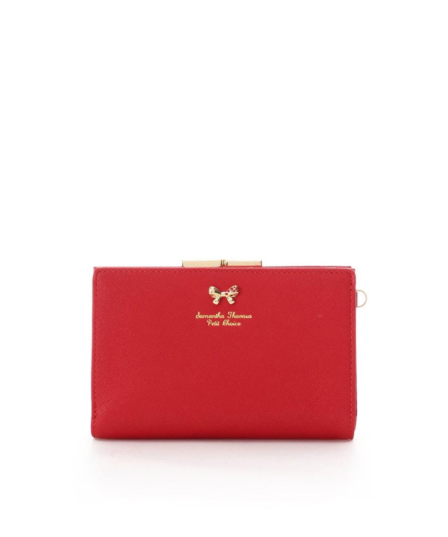 プチカラーコレクション 折財布 【パープル】