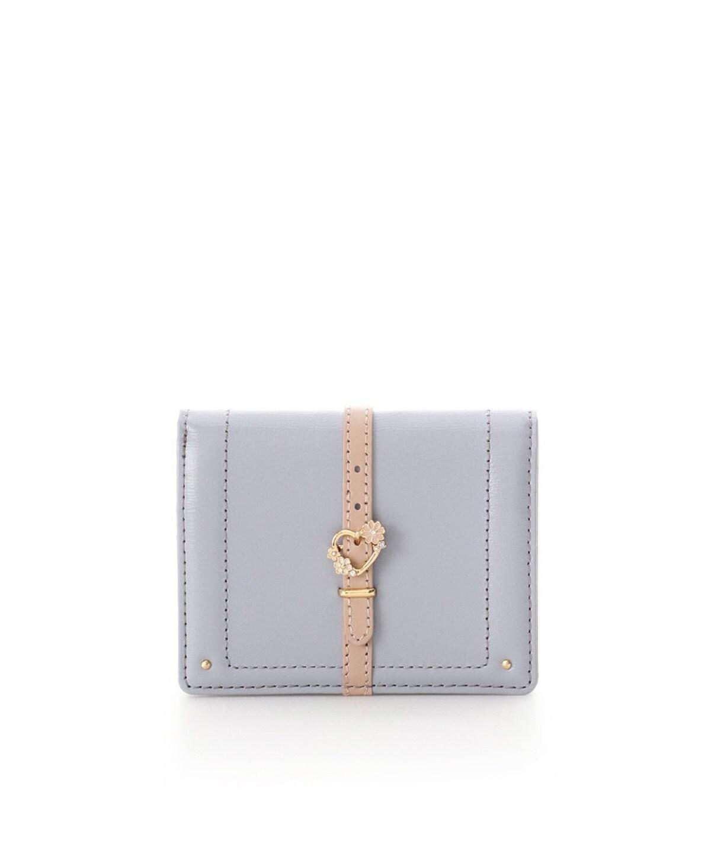 ハートフロントベルト折財布