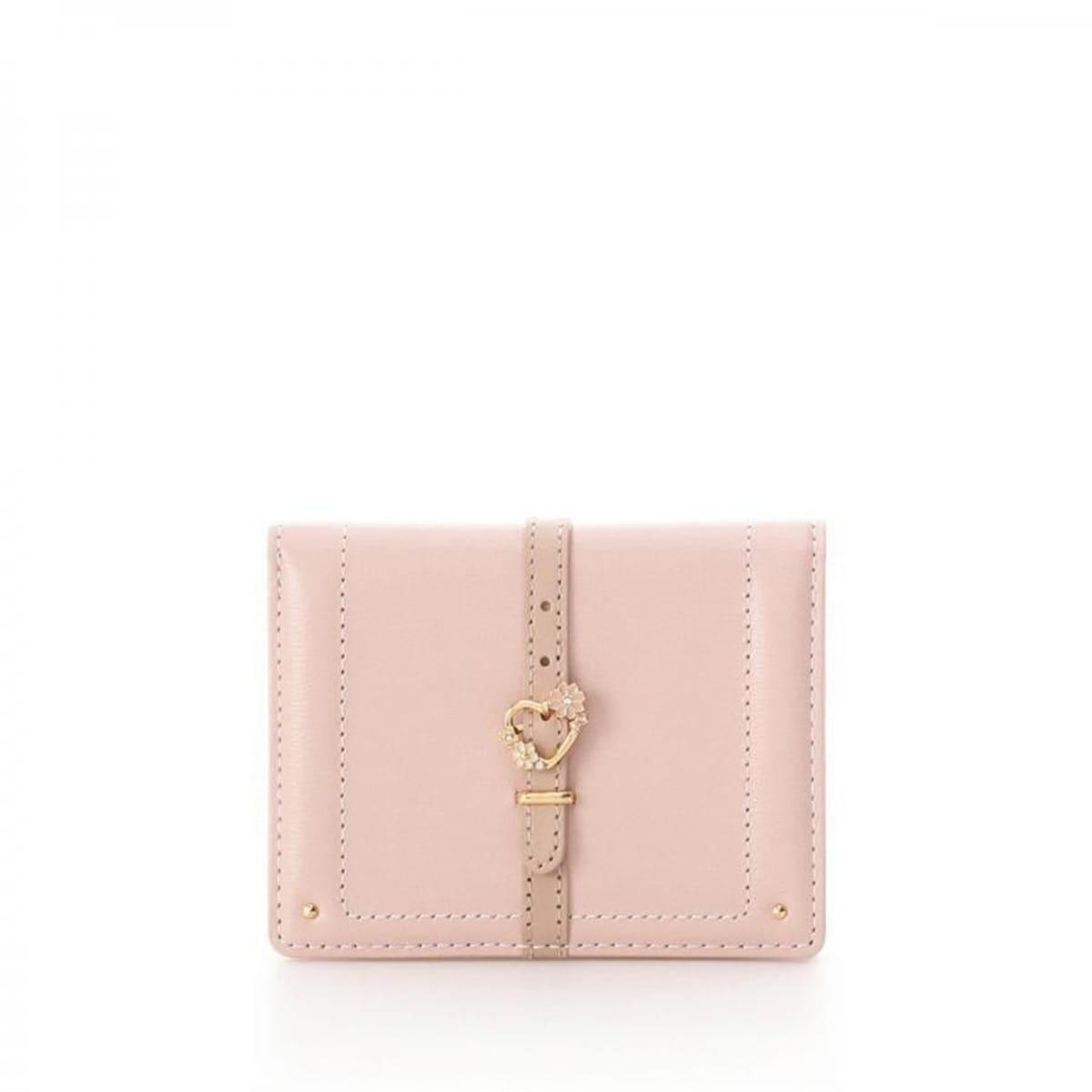 ハートフロントベルト中折財布