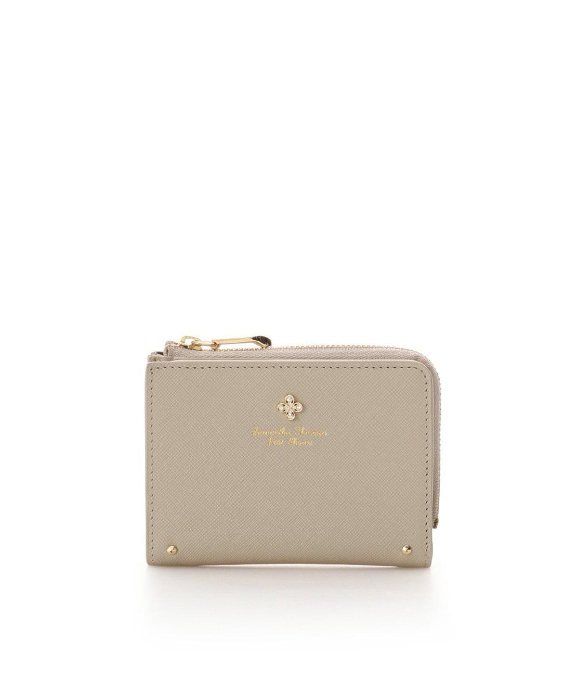 ★クローバーモチーフ折財布