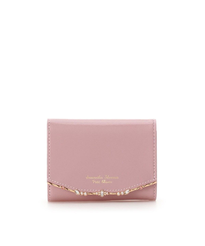 アンティークビジューバー折財布