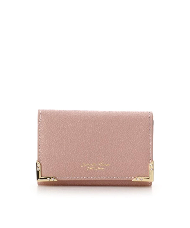 フラワープリントミニ折財布