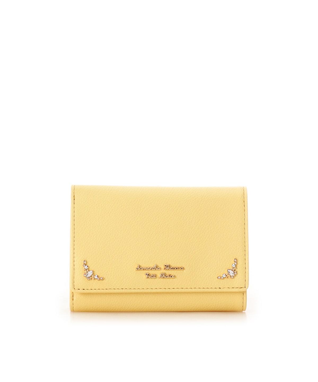 マーキスビジューモチーフ折財布