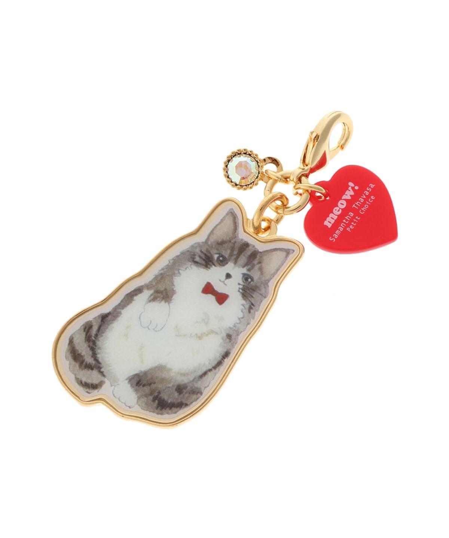 【Classy Lady Cat】シリーズ ファスナーチャーム (メインクーン)