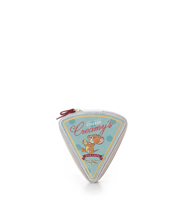 ★【トムとジェリー】コレクション チーズ型ミニポーチ