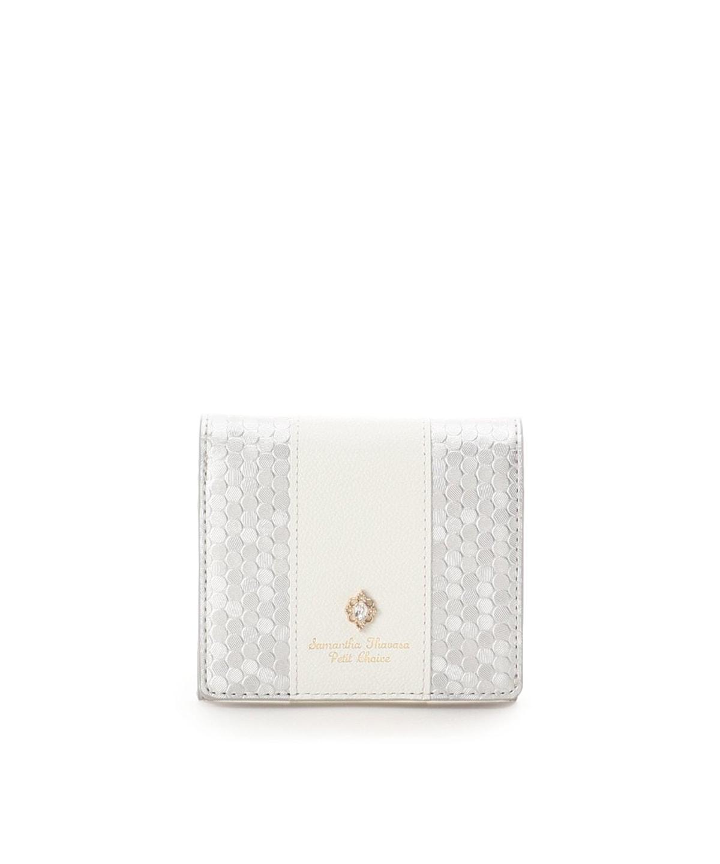 スパンコールレザー 折財布