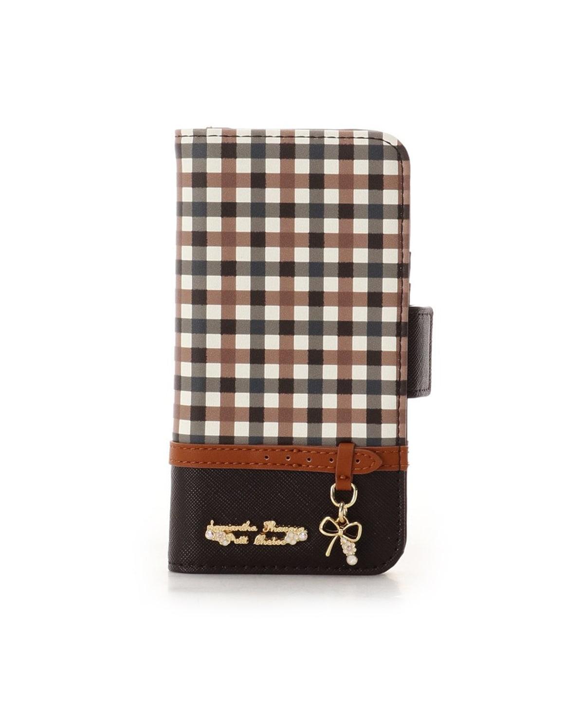 iPhone11pro チェックベルトリボンモチーフiPhoneケース