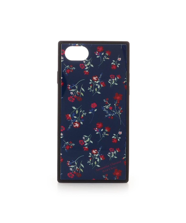 iPhone8 フラワープリントiPhoneケース