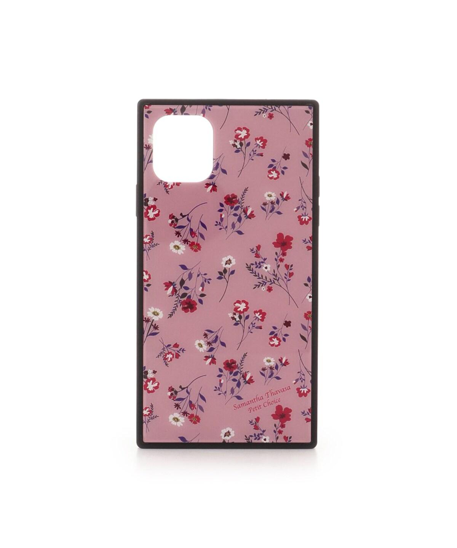 iPhone11 フラワープリントiPhoneケース