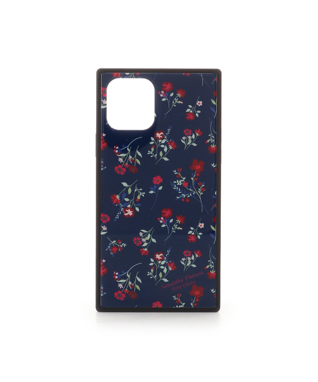 iPhone11pro フラワープリントiPhoneケース