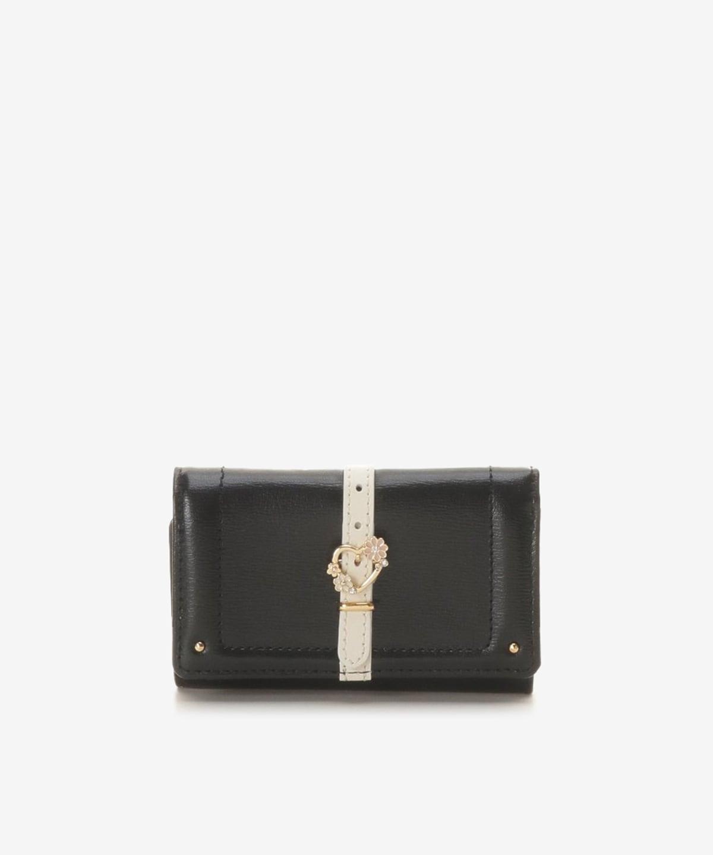 ハートフロントベルトキー財布