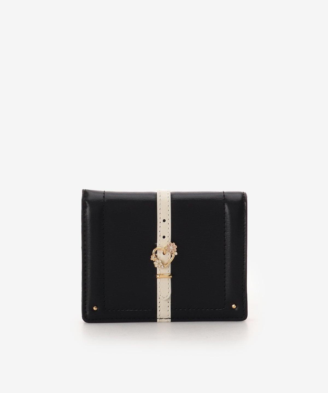 ハートフロントベルト2つ折財布