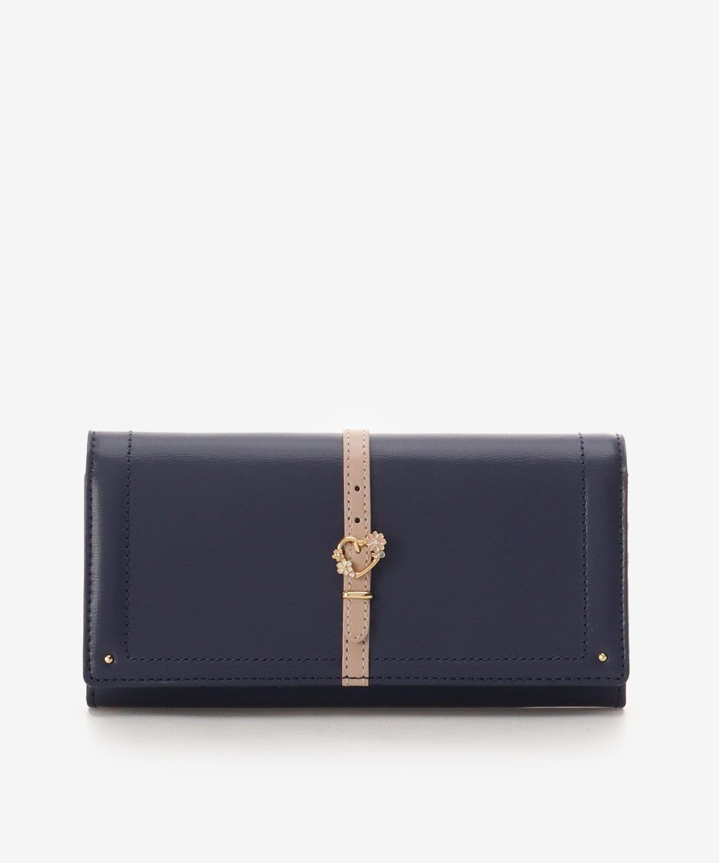 ハートフロントベルトかぶせ長財布