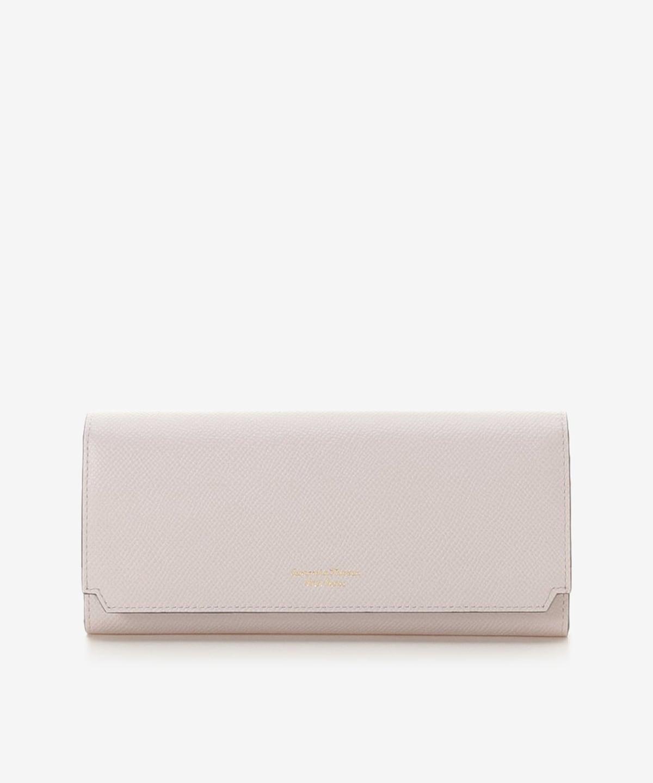 インサイドバイカラー かぶせ長財布