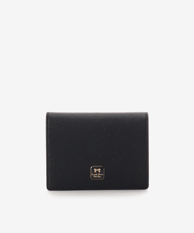 ★スクエアブローチ折財布