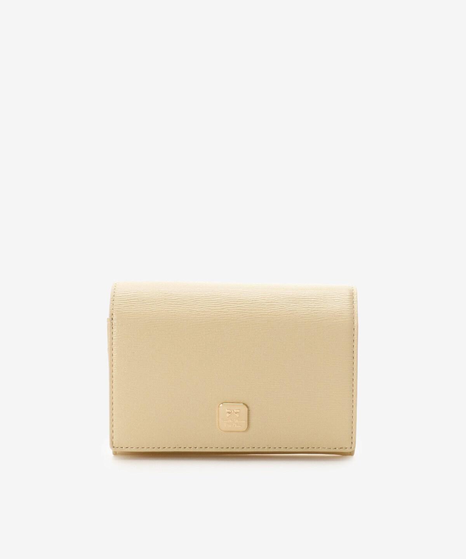 ★スクエアブローチかぶせ中財布