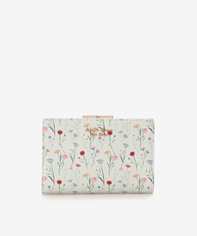 スプリンクルフラワー口金折財布