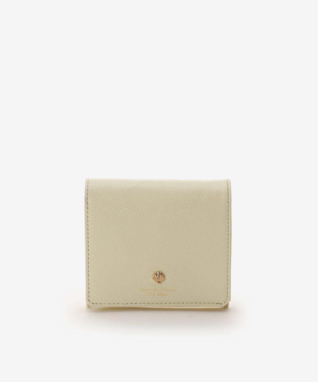 ★シェルモチーフBOX型折財布