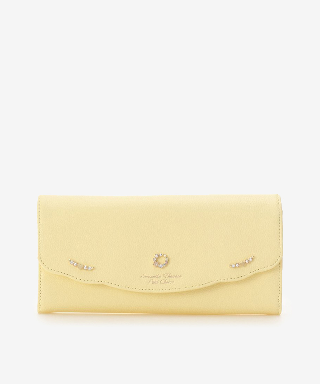 フラワーサークル かぶせ長財布