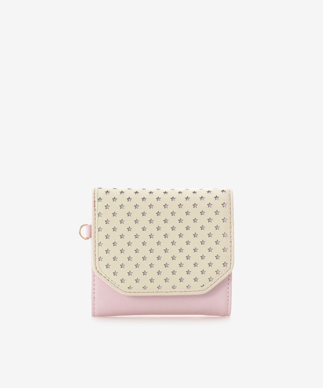 スターパンチングミニ折財布